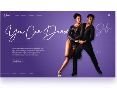 Dancing School Home Page