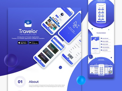 Travelor Mobile App UI Design uiux animation mobile app design ios app design android app ui design ui