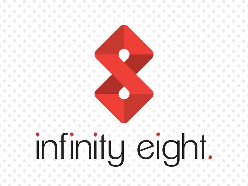 infinity eight marketing design firm marketing agency infinity logo brand identity branding 8 eight infinity