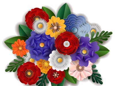 Flower Paper Cut