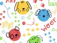 Puppy Pattern