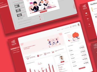 Dashboard Akses Prima Indonesia ux ui branding information graphic telecommunication website concept website design website dashboard ui web design ui  ux