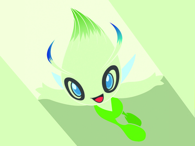 Celebi Vector Art