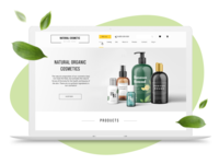 Natural cosmetics. Drupal profile