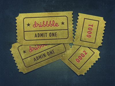 Dribbbles invites2