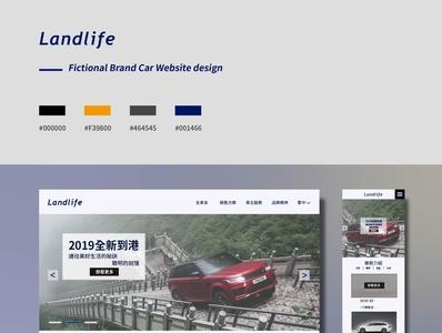 Responsive web design| Car website