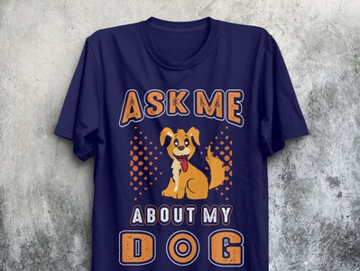 Dog T-SHIRTS DESIGN.