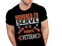 AMERICAN VETERAN T-SHIRT DESIGN.