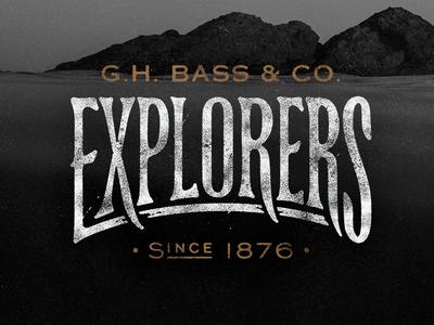 G.H. Bass & Co Explorers