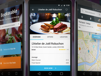 Bookatable App for Android