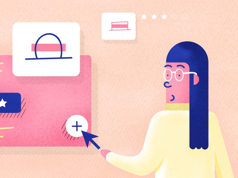 Customer Experience Lessons illustration customer journey e commerce brushes freshdesk freshworks blog