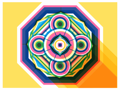 Fractal vector illustrator perspective geometric illustration illustration lighting fractal abstract art