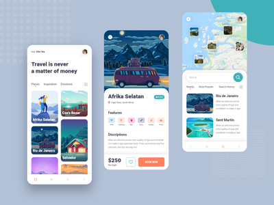 Travel App UI ios apps creativepeoples debut shot branding agency tourism tour app hotel app travel uiux app ui ux travel ios travel mobile app mobile app ui travel ui travel app
