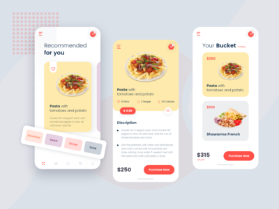 Pasta App UI