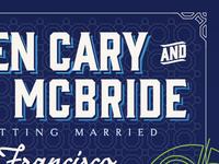 Wedding Website — Intro
