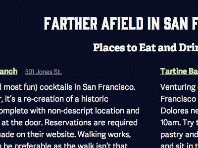 Wedding Website — SF Recs wedding columns adelle gin typography responsive adelle sans web fonts