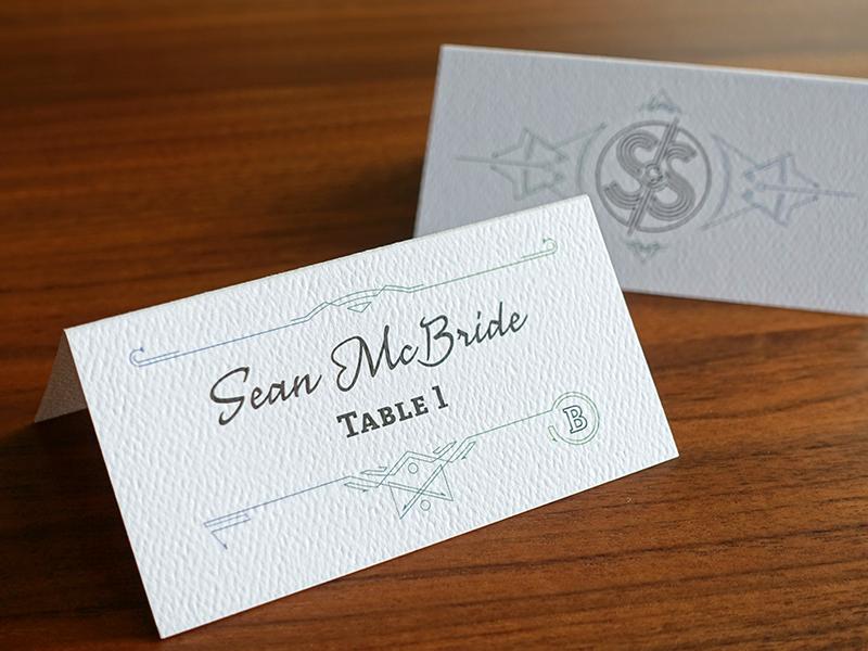 Wedding Escort Card wedding printing print anatoletype adelle typetogether escort card nouvelle vague