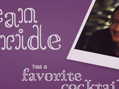 SeanMcB.com - Favorite cocktail theme css3 personal typekit fonts lettering.js jquery