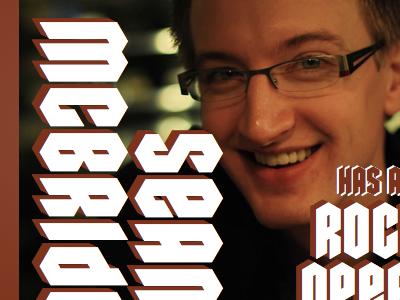 SeanMcB.com - Rock opera theme css3 personal typekit fonts lettering.js jquery