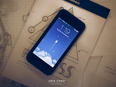 IMPACT rocket iphone wallpaper impact wallpaper iphone illustration 5s apple sketch sketches blue photography photo