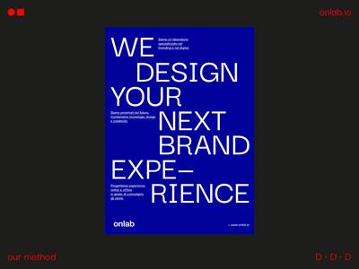 on lab — Brand Identity