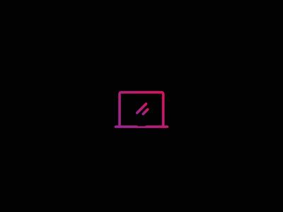 Laptop Gradient Icon