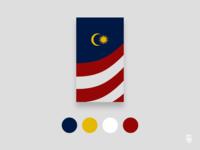 Malaysian Flag Mobile Wallpaper by Sambruce Joseph