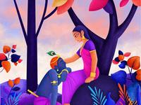 Radha Krishna - Eternal Evening