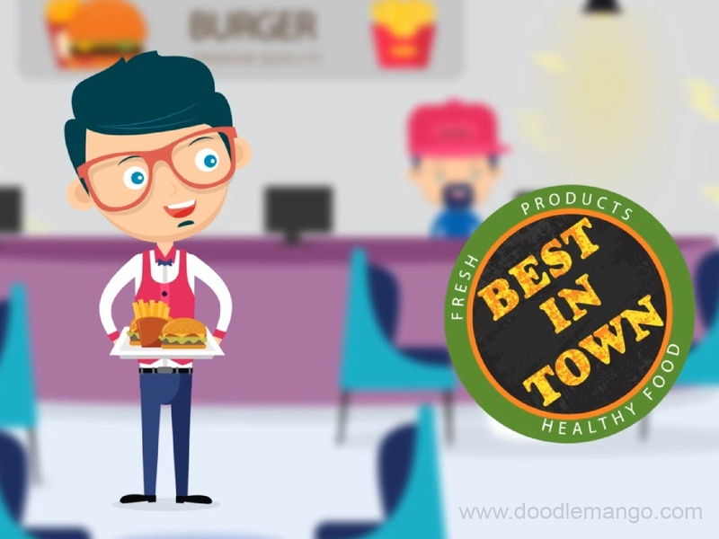 Burger Guy - Character illustrations design burger guy burger animation 2d digital art beauty animation creative illustration illustration creative art