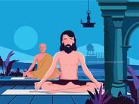 Happy Yoga Day - Doodlemango