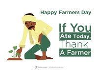 Happy National Farmer's Day