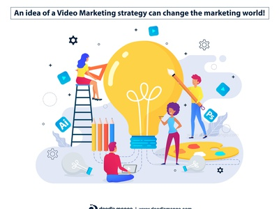 Explainer Video Guide Marketing Illustration explainer video company graphic animation creative art explainer videos explainer video illustration digital art creative illustration