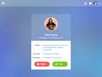 Designer Meetup Mockup | UX UI Design