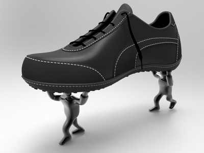 shoe thieves :) crazy shoe