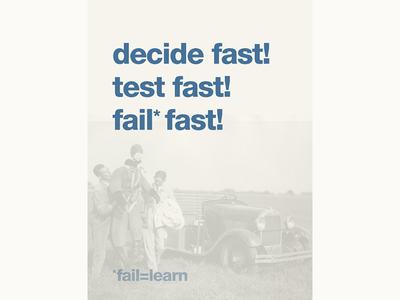Fail is learn