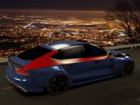Audi RS7 at night