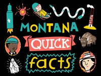 Cover for my book 'Montana Quick Facts'