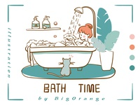 Ideal life:Bathing
