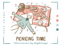 Ideal life:Picnicing