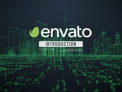 New template is on the way! videohive presentation corporate template envato after effects