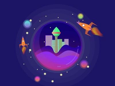 Planet Vlancinim Galaxy Y Fun Art 01