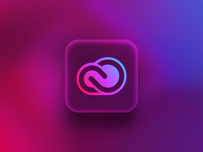 Adobe CC app icon adobe adobe cc app icon