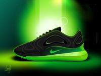 Nike Air Max 720 Illustrations nike air max sneakers illustration nike