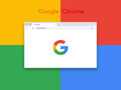 New Google Chrome Browser — Free sketch file template mockup resource free sketch download aplication google chrome window browser source design google interface chrome ui free sketch