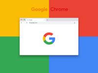 New Google Chrome Browser — Free sketch file