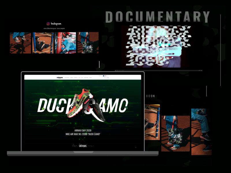 Duckamo branding website design website concept website card design ui