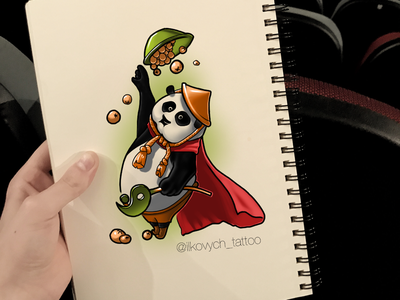 Panda want pelmeshky. pandas