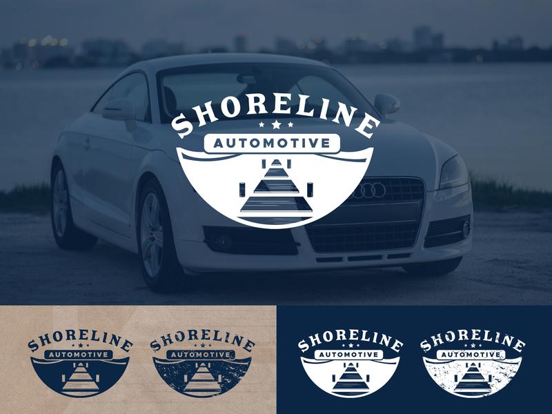 Sarasota Car Dealerships >> Shoreline Automotive Logo By Krista Lee On Dribbble
