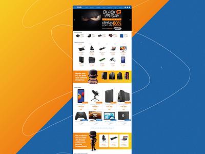 Redesign e-commerce Kabum! uxuidesign uxui design ui design ux design tecnologia ecommerce design ecommerce wireframe