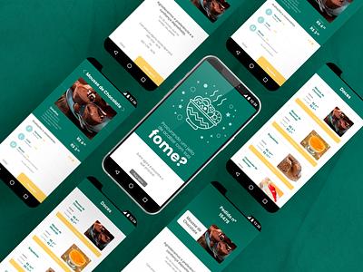 App Delivery de Comida app design app aplicativo ux ui uxdesign uidesign uxuidesign uxui design ux design ui design